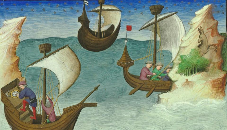 Colloque Itinérances maritimes en Méditerranée, du Moyen Age à la première modernité