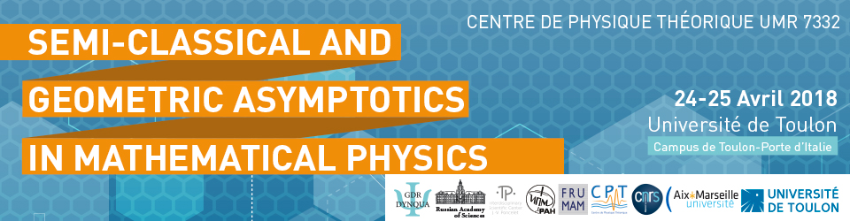 Conference Semi-classical and Geometric Asymptotics in Mathematical physics